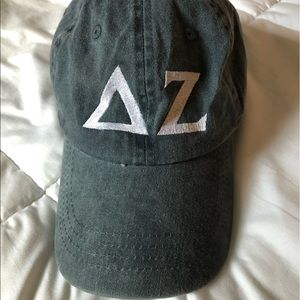 Delta zeta sorority baseball hat